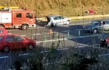 Nou accident a la N-340 al seu pas per Altafulla
