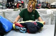 Humana ha recogido 9.968 kilos de textil usado en la Bisbal del Penedès durante el 2019