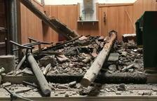 Savallà del Comtat reparará la iglesia destruida por el temporal