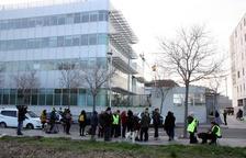 Los citados por la Guardia Civil en Tarragona por los cortes en la AP-7 se acogen al derecho a no declarar