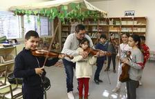 La Escola Rubió i Ors de Reus, pionera al ofrecer el aprendizaje del violín en clase