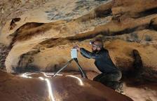 Descubren en la Espluga de Francolí el primer santuario paleolítico de hace 15.000 años con más de 100 grabados