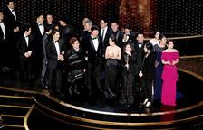 'Parásitos' arrasa a los Oscar con cuatro premios, incluido el de mejor película