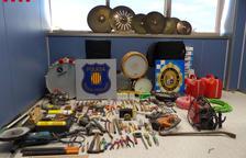 Detinguts dos homes pel robatori de material musical d'una associació de Sant Carles de la Ràpita