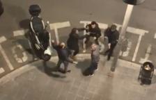 Una baralla entre germans en ple carrer a Tarragona acaba amb un ferit