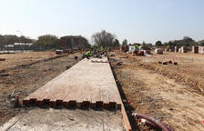 El Parc de les Olors de Reus, amb 10.600 m2 de plantes, s'enllestirà a finals de març