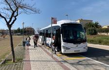 Entra en funcionamiento la nueva parada de la calle Josep M. Segarra de Constantí