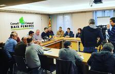 El Baix Penedès se planta con los presupuestos