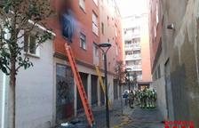 El incendio se produjo en la calle Colldejou de Reus.