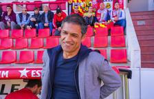 Toni Seligrat en el banquillo del Nou Estadi en un partido de esta temporada.