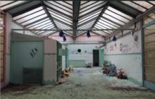 Imagen del proyecto que muestra el estado interior del edificio.