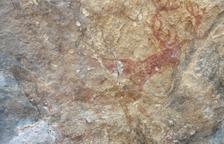 El Govern delimita l'entorn de protecció de l'abric de pintures rupestres Cova del Taller de Tivissa