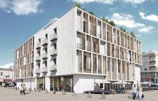 Via lliure a la construcció de l'hotel de 4 estrelles a la plaça del pòsit de Cambrils