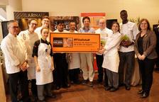 Sandra Masias i  Esther Maria Subias guanyen el concurs de cuina jove de les Jornades de la Galera de Cambrils