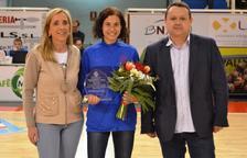 El CB Valls ofrece el servicio de honor a Marta Galimany