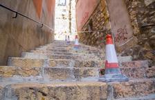 El govern de Tarragona retirarà aviat la barana de les Escales d'en Arbós