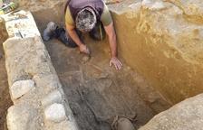 Descubren un mausoleo romano en Tortosa que mujer pistas sobre la ubicación de la necrópolis de Dertosa
