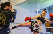 Paula Andreu vol revalidar el títol de campiona del món en Muay Thai