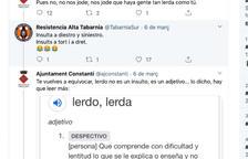 Un grup d'ultradreta amenaça l'Ajuntament de Constantí, que els respon a xarxes tractant-los de rucs