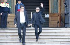 Jové y Salvadó se niegan a declarar en el TSJC y se remiten a sus recursos contra el procesamiento
