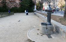 Instalarán en Reus una veintena de fuentes mixtas para el uso de personas y perros