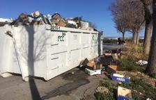 El reciclaje en el mercadet de Bonavista reducirá el alto coste de su limpieza