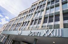 Imagen del Hospital Joan XXIII, donde se ha adaptado la zona C de la sexta planta por|para casos de COVID-19.