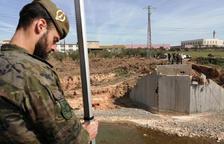 L'exèrcit pren mides a Montblanc per instal·lar un pont provisional a l'N-240