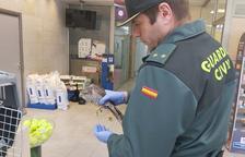 La Guardia Civil rescata un gavilán en Banyeres del Penedès