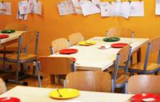 Imatge d'un menjador escolar.