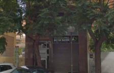 Imagen de los bajos del número 1 de Sant Antoni Maria Claret, donde se instalará el centro evangelista.