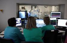 Imagen de archivo de la sala de hemodinámica del Hospital Joan XXIII de Tarragona.