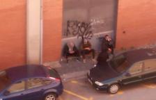 Imagen captada por los vecinos durante los días de confinamiento.