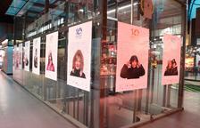 Imagen de los carteles promocionales de la décima edición que hay en el Mercat Central de Tarragona.