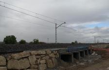 Adif restablecerá el 14 de abril la circulación a la línea ferroviaria convencional entre Lleida y l'Espluga de Francolí