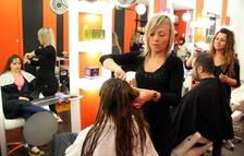 Imagen de archivo de una peluquería tarraconense.