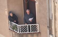 La Selva del Camp fa les processons de Divendres Sant des dels balcons