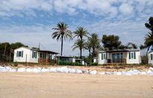 La Costa Daurada confia tenir a punt per l'estiu les platges afectades pel Gloria