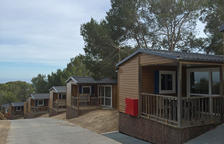 Las 17 familias de Campclar se alojarán en el Camping Trillas de Tamarit