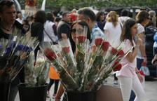 El Govern creu que el Sant Jordi d'estiu probablement no es podrà celebrar