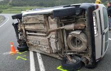 Mor el conductor d'una furgoneta en un accident a l'N-240 a l'Espluga de Francolí