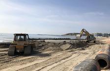 El Port de Tarragona comença els treballs de restauració de la platja de la Pineda