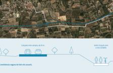 Comencen les obres de millora de la carretera T-3231 entre Almoster i la Selva del Camp