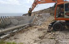 Comencen els treballs de restauració a l'Espigo del Racó a la Pineda