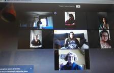 Las comadronas ebrenses suplen con clases virtuales la preparación y el acompañamiento al parto