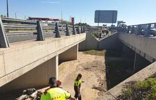 Mor un motorista en un accident a l'A-7 a Vila-seca