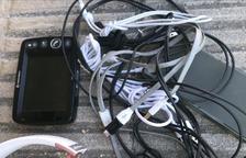 La Policia Local d'Altafulla recupera diversos objectes sostrets
