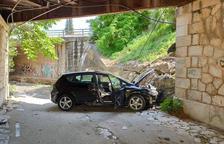 La Policía de Cambrils detiene al titular del coche que cayó por un barranco
