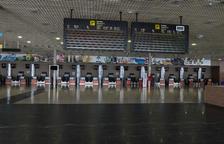 L'Aeroport de Reus ha deixat d'operar 2.240 vols durant l'estat d'alarma