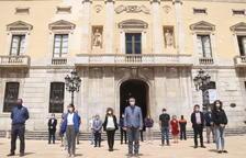 Els municipis tarragonins fan un minut de silenci en memòria de les víctimes de la Covid-19
